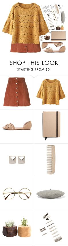 """""""Vintage chic"""" by painterella ❤ liked on Polyvore featuring Theory, Breckelle's, Shinola, Emilie Morris, HAY, Retrò, Gucci, Forever 21, vintage and contestentry"""