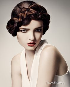 Louise Wood 2012 Southern Hairdresser of the Year Finalist - British Hairdressing Awards 2012