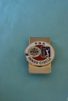 PGA Inner Circle Money Clip/Badge #Unbranded Buy Golf Clubs, Money Clips, Inner Circle, Badge, Badges, Money Clip