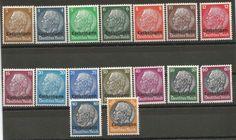 Obecnie na aukcjach #Catawiki: Cesarstwo Niemieckie 1933 - Paul von Hindenburg na znaczku Lothringen 1940, Luxembu...