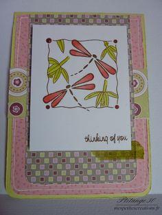 Carte Libellules - Dragonfly card