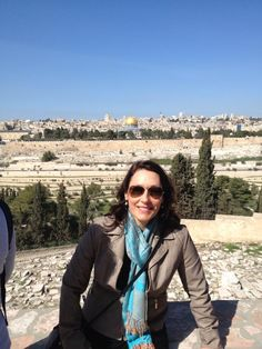 Katharine in Jerusalem!