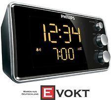 Philips AJ3551 Radio Reloj de reactivación Suave SINTONIZADOR FM PANTALLA LED…