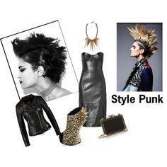 Style Punk by una-pulkstene on Polyvore featuring moda, Michael Kors, Giuseppe Zanotti, Christian Louboutin and Amrita Singh