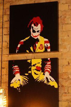 Ajándék Joker LACK asztallapon