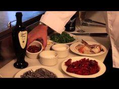 Zonin Prosecco Recipe Black Linguini, Positano Style @ Casa d'Angelo  For complete recipe go to http://www.zoninprosecco.com/recipes/black-linguini-positano-style/