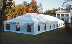 Economy Tent Classic - Frame Tent with cathedral window sidewalls