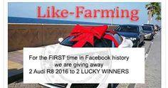 Audi R8 Facebook Giveaway Scam