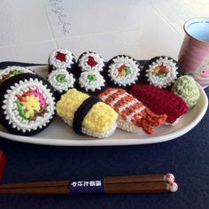 Amigurumi Sushi Cat : 1000+ images about sushi on Pinterest Sushi, Crochet and ...