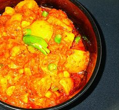 Veg Indian Cooking: LEHSUNI TINDA MASALA