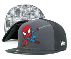 TOKIDOKI x Marvel x New Era 59FIFTY Fitted Caps Collection