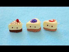Polymer Clay Cheesecake Charm Tutorial https://www.youtube.com/watch?v=SlcS4xqz9j4