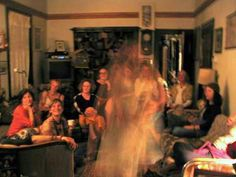 TEA TIME GHOST! Back in 2005, while attending a lively tea party in a historic Victorian home in the seaport village of Port Townsend, Washington, I caught this mysterious apparition with my Canon point and shoot digital camera. The owner of the home had heard the place was haunted, but had never experienced anything.  Some people claim to see a woman in a bridal gown. Others claim to see a flapper-era woman.