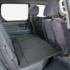 Bushwhacker - Paws n Claws Backseat Pet Bridge - Ideal for Trucks, SUVs, and Full Sized Sedans Dog Car Seat Extender Platform Cover Barrier Divider Restraint - OlivesPet