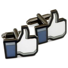 Thumbs-Up Cufflinks – this is what Zuckerberg should have worn instead of that hoodie...