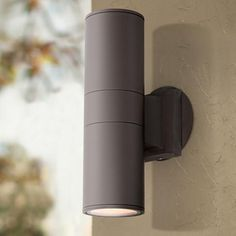 possini euro coppered arch indoor outdoor led wall sconce style