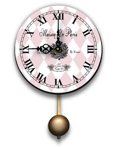 Shabby Chic French Country Clocks