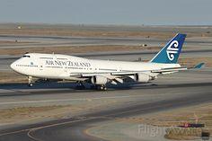 Photo of Air New Zealand B744 (ZK-SUH) ✈ FlightAware