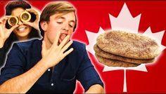 Irish People Taste Test Canadian Desserts