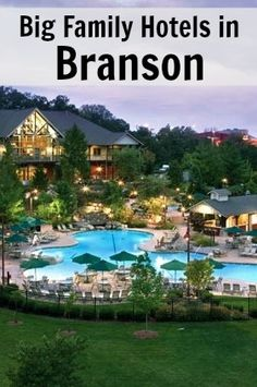 Branson big family hotels for 5, 6, 7, 8 in one hotel room. Start planning your next Branson vacation now!