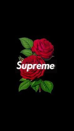 supreme rose wallpaper iphone image by Wallpaper ✷ Factøry . Discover all images by Wallpaper ✷ Factøry . Find more awesome supreme images on PicsArt.