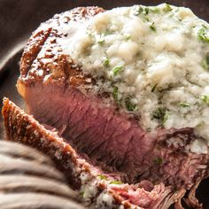 Filet Mignon with Blue Cheese Butter Recipe