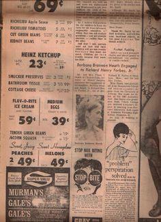 Super Valu ad 1969