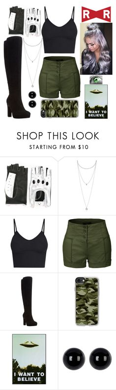 """Dragon Ball Inspired"" by lucy-wolf ❤ liked on Polyvore featuring Manokhi, Green Eyed Monster, Lucky Brand, LE3NO, Dune, Casetify and Candela"
