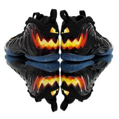 Nike Little Posite One GS Halloween #sneakernews #Sneakers #StreetStyle #Kicks