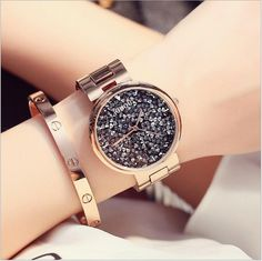 GUOU Watch Top Luxury Diamond Watch Women Watches Fashion Shiny Rhinestone Ladies Watch Hour relogio feminino relojes mujer 2016