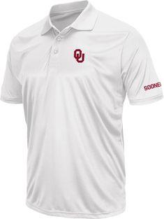 pretty nice c25e1 af5cc Colosseum Men s Oklahoma Sooners Crimson Stance Polo