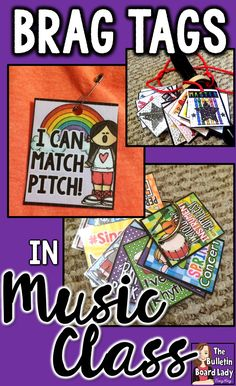Learn to use Brag Tags in Music Class or any special area class. Brag tags are an incredible student behavior incentive and can be used in older students as well as Kindergarten and other young learners. You'll find ideas for using these printable sanit Kindergarten Music, Preschool Music, Teaching Music, Behavior Incentives, Student Behavior, Classroom Behavior, Piano Lessons, Music Lessons, Music Education Activities