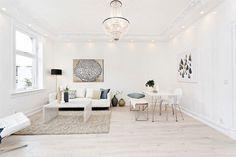 Belysning - BISLETT: Luksuriøs 3-roms med høy standard og klassiske detaljer