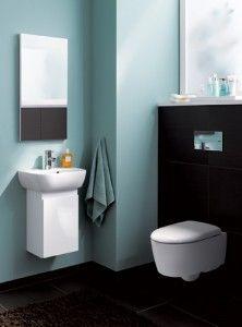Für´s Gäste-wc: Icon Xs. Handwaschbecken Mit Unterschrank Oder ... Ideen Fur Wc Design