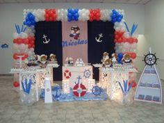 foto de decoração ursinho marinheiro provençal