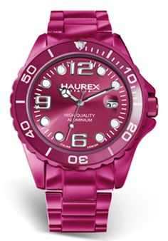 Price:$195.94 #watches Haurex 7K374DP2, Haurex Italy Ink Women's Pink Watch