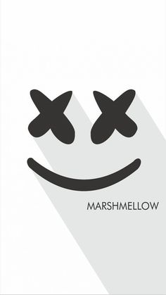 Marshmello Logo White Marshmello in 2019 Wallpaper