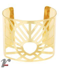 Bracelete com detalhes vazados
