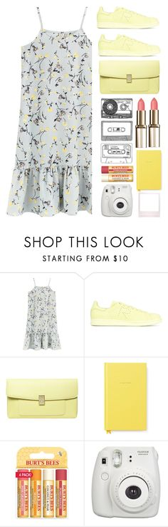 """Untitled #166"" by pleasantlyvacant ❤ liked on Polyvore featuring adidas, Dorothy Perkins, Kate Spade, Burt's Bees and Fujifilm"