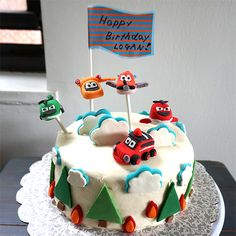 Disney Planes Fire and Rescue Cake