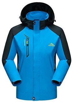 b2118ce3eb7 ZSHOW Mens Winter Waterproof Windproof Fleece Outdoor Skiing JacketSapphire  BlueXL    Learn more by visiting