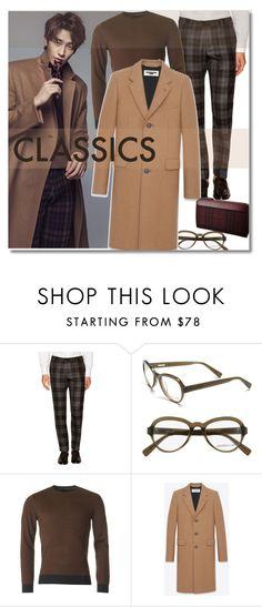 """""""Men's Classic"""" by junglover ❤ liked on Polyvore featuring Ernest Hemingway, Derek Lam, Yves Saint Laurent, men's fashion and menswear"""