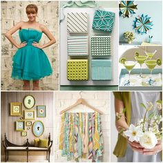 kiwi & aqua// that's an @Ivy and Aster dress on top! my bffl is amazing.