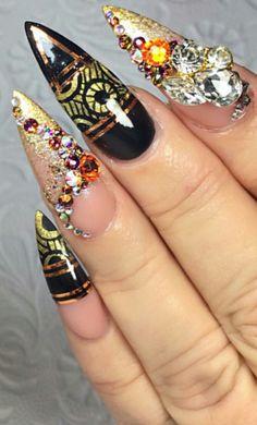 Nailart nails design