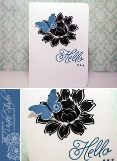 This month the design team at Uniko Studio are revisiting an old stamp set and we are at the same time giving you a sneak peek at a new fun. Studio Cards, Bloom, Stamp, Fun, Inspiration, Beautiful, Design, Papillons, Biblical Inspiration