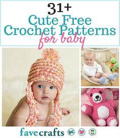 31+ Cute Free Crochet Patterns for Babies
