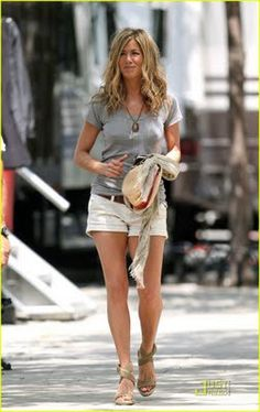 Jennifer Aniston: Her style is always simple and chic. She also looks fierce in whatever she wears