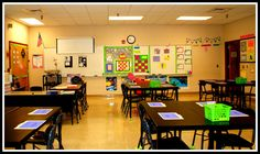 Just because the students get older doesn't mean the room has to get bland!  Science classroom decorating ideas!
