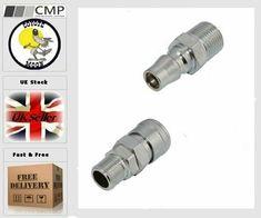 3 WAY SPLITTER Air line UK SELLER compressor MANIFOLD 1//4 pneumatic