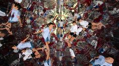 A2 Arquitectos creates a play area inside a kaleidoscopic tunnel via Mark Magazine.